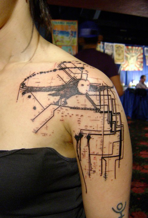 Xoil Needles Side Tattoo The Vandallist