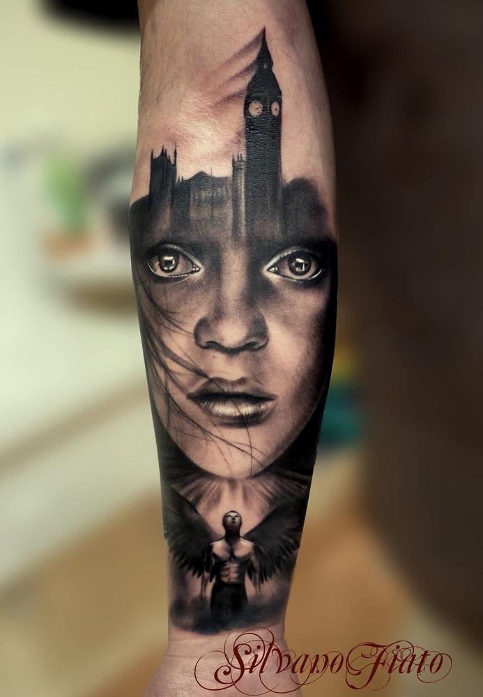 Silvano fiato tattoo artist the vandallist for Best realistic tattoo artists