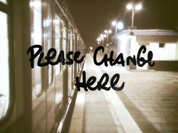 please change here