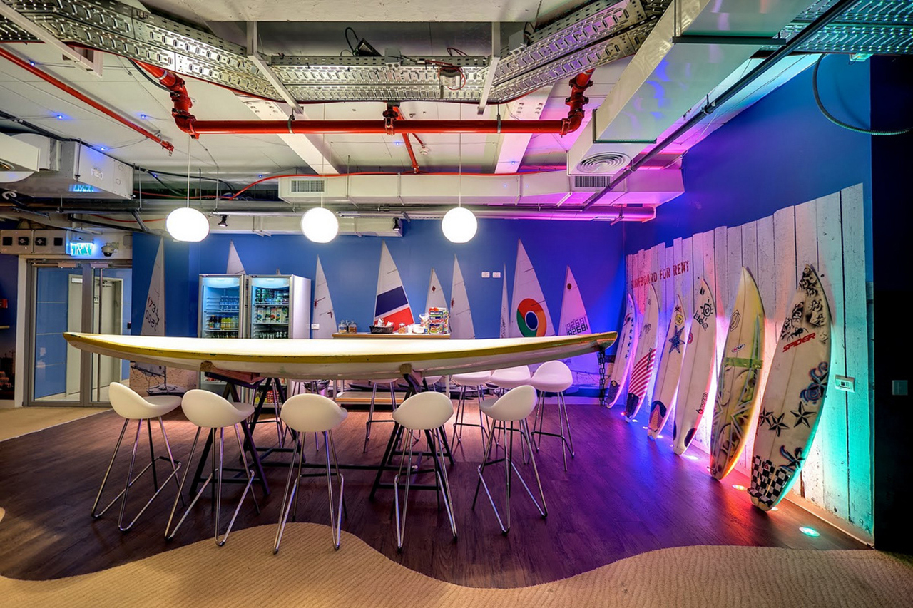 Google s tel aviv office the vandallist for Office design google