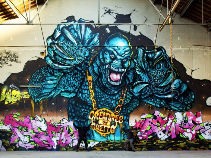 Reso And Zeus - creatures from the ghetto1 - Toulouse 2013