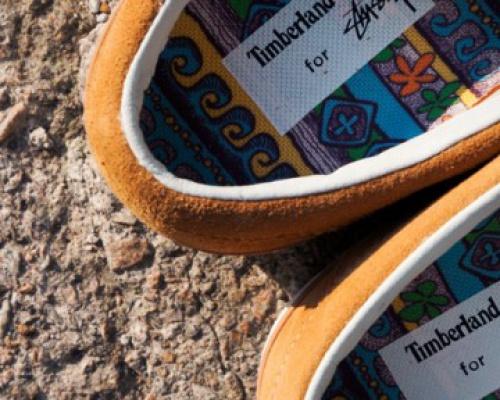 Stussy x Timberland 2013 Moc Toe Shoes