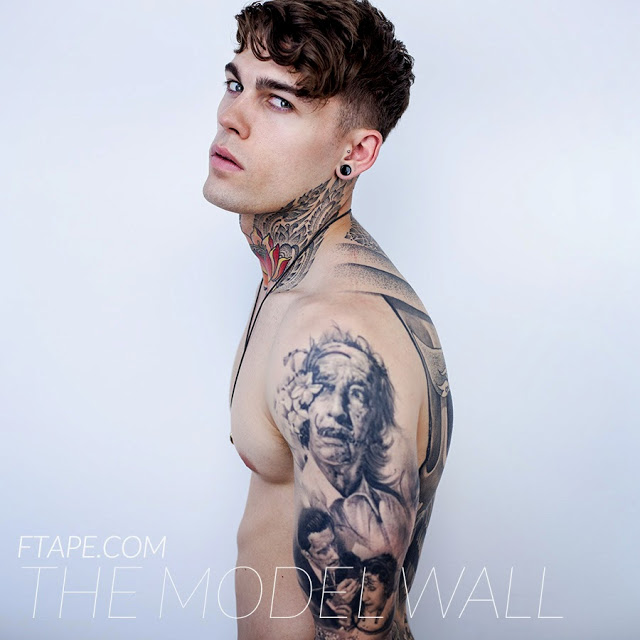 Style icon stephen james the vandallist for Tattoo model jobs