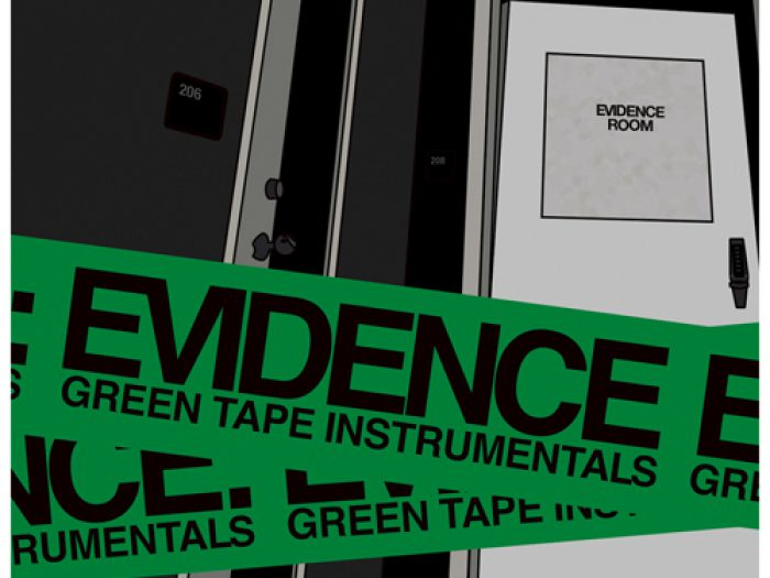 evidence-green-tape-instrumentals