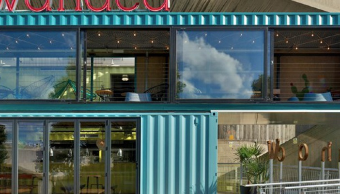 Wahaca southbank experiment shipping container restaurant the vandallist - Wahaca shipping container restaurant ...