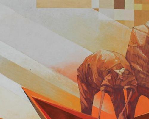 Mural by Pener and Sepe