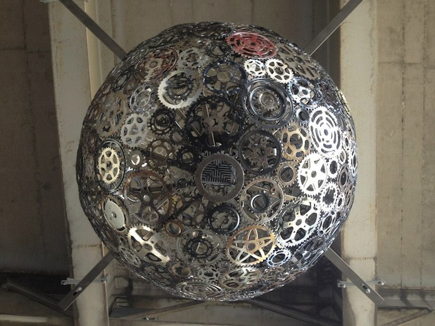 Recycled-Bike-Parts-Create-Stunning-4-Foot-Chandeliers-9 – The ...