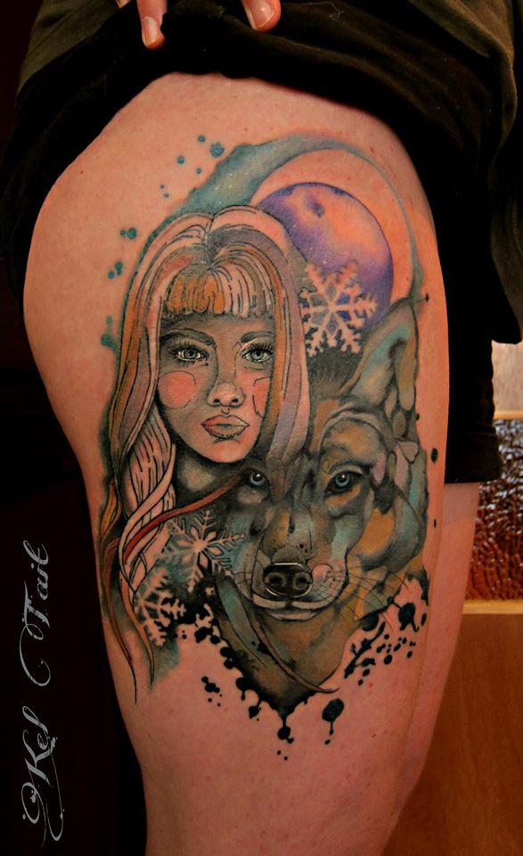 Kel Tait, Tattoo artist (13)
