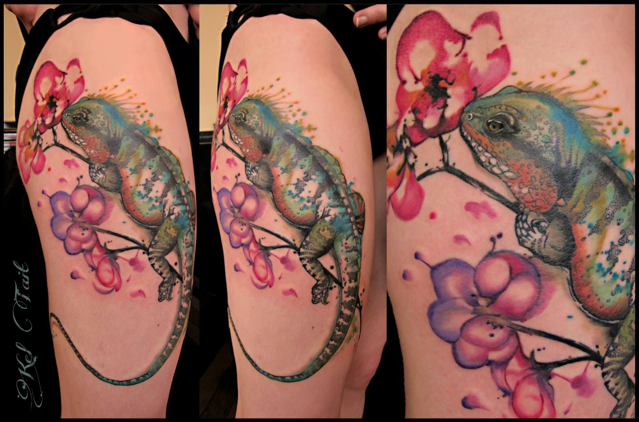Kel Tait, Tattoo artist (15)