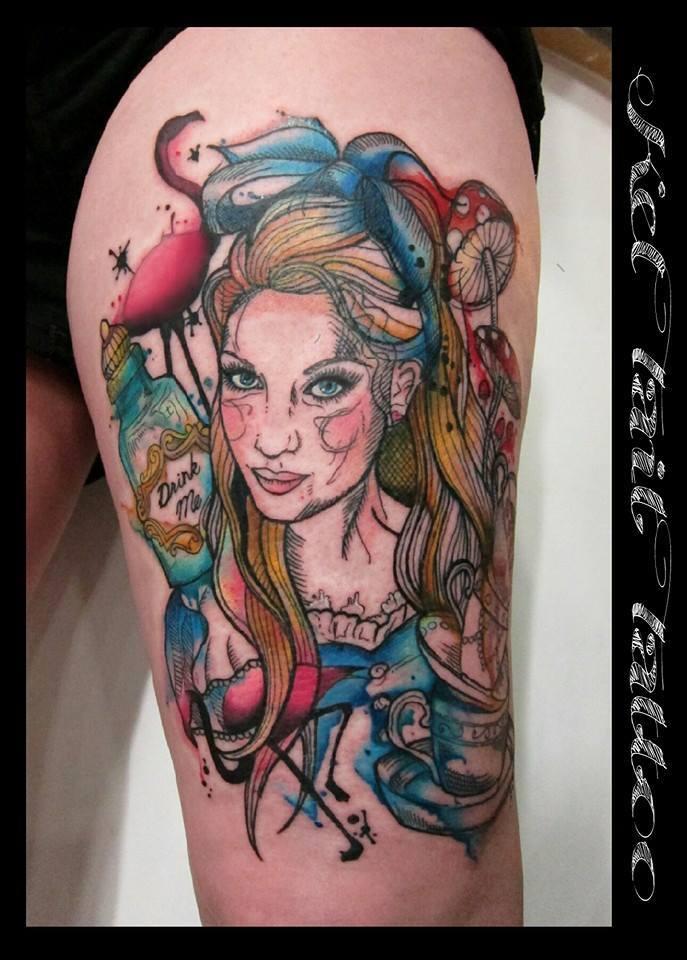Kel Tait, Tattoo artist (2)