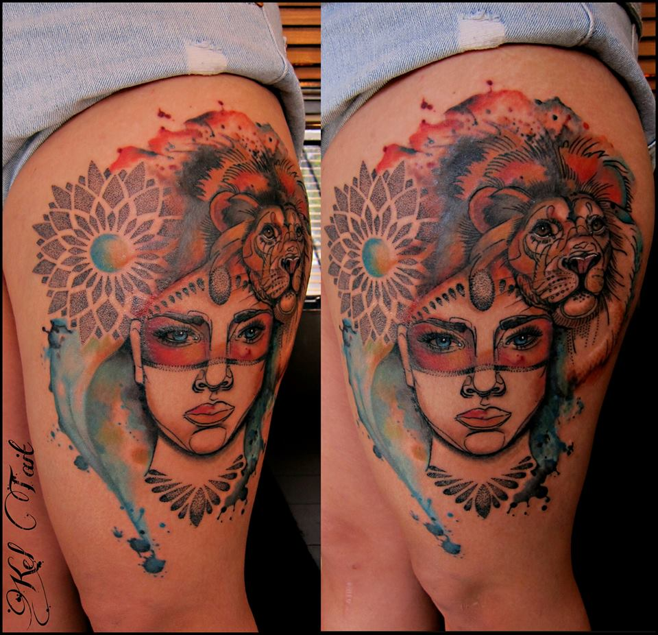 Kel Tait, Tattoo artist (21)