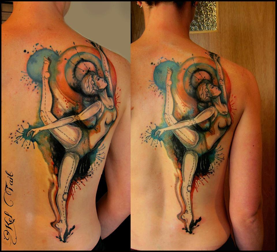 Kel Tait, Tattoo artist (22)