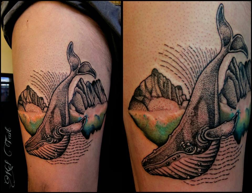 Kel Tait, Tattoo artist (7)