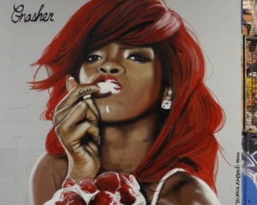 GNASHER, street artistGNASHER, street artist