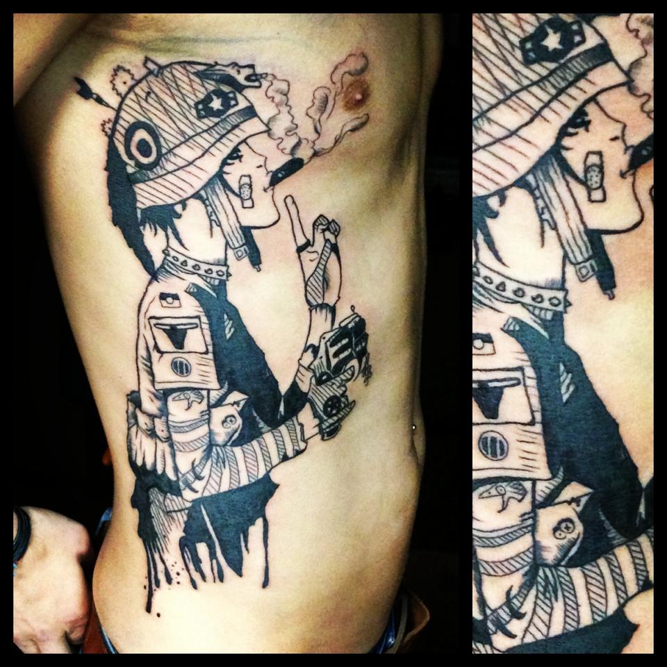 Graffiti art tattoo - Martynas Nioka Tattoo Artistmartynas Nioka Tattoo Artist The Vandallist