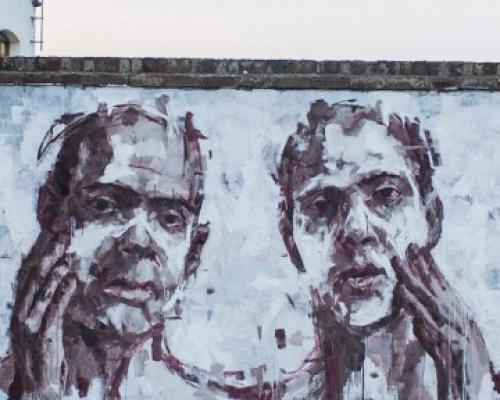"Borondo ""Nemesis"" New Mural – London, UKBorondo ""Nemesis"" New Mural – London, UK"