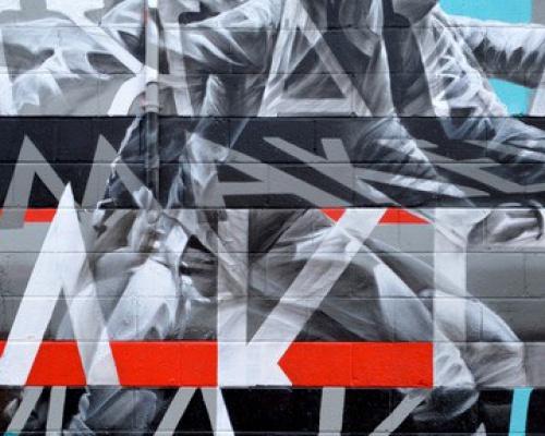 AARON LI-HILL, street artistAARON LI-HILL, street artist