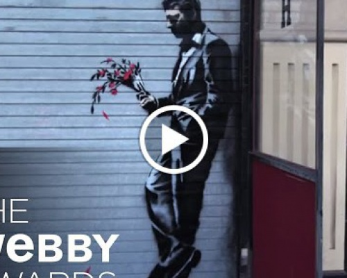 "Banksy's ""Artist in Residence"" 