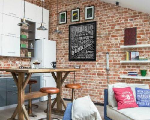 Attic Apartment in Danilov