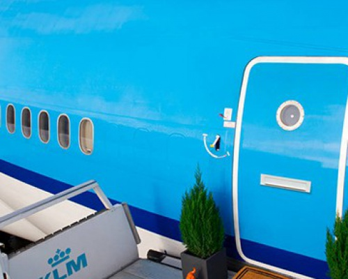 Pretty Fly Apartment on Airbnb: a Refurbished KLM Airplane