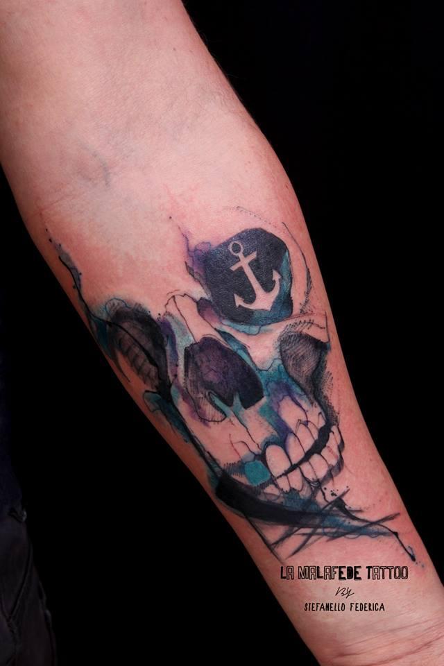Federica Stefanello, tattoo artist (28)