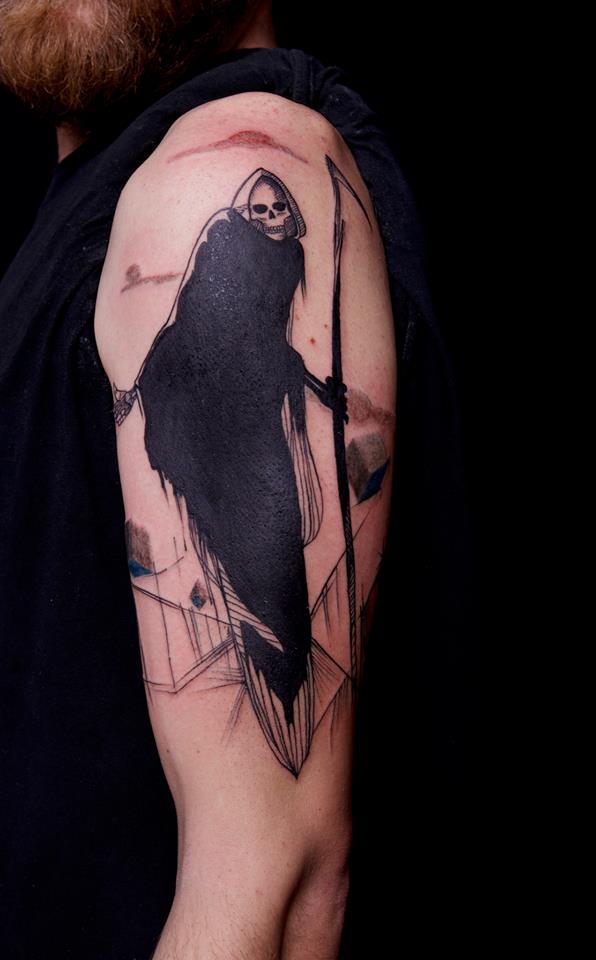 Federica Stefanello, tattoo artist (29)