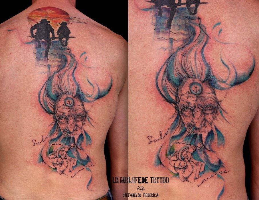 Federica Stefanello, tattoo artist (38)