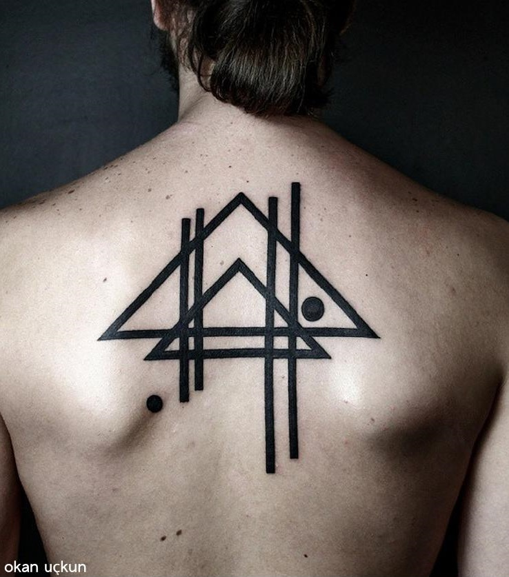 Okan uckun tattoo artist the vandallist for Minimal art tattoo