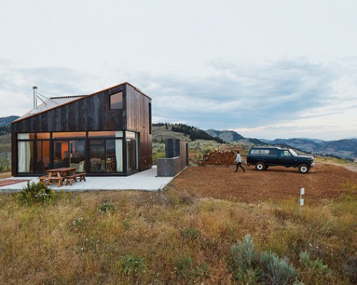 Sky house in Oroville, Washington