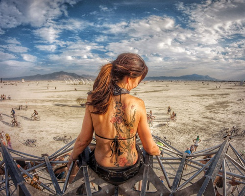Surreal photographs from Burning Man 2014 + VIDEO