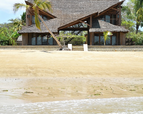 The Under Sails Beach House in Nosy Be, Madagascar