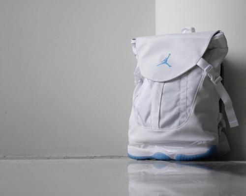 "Jordan premium shoe bag ""Legend Blue"""