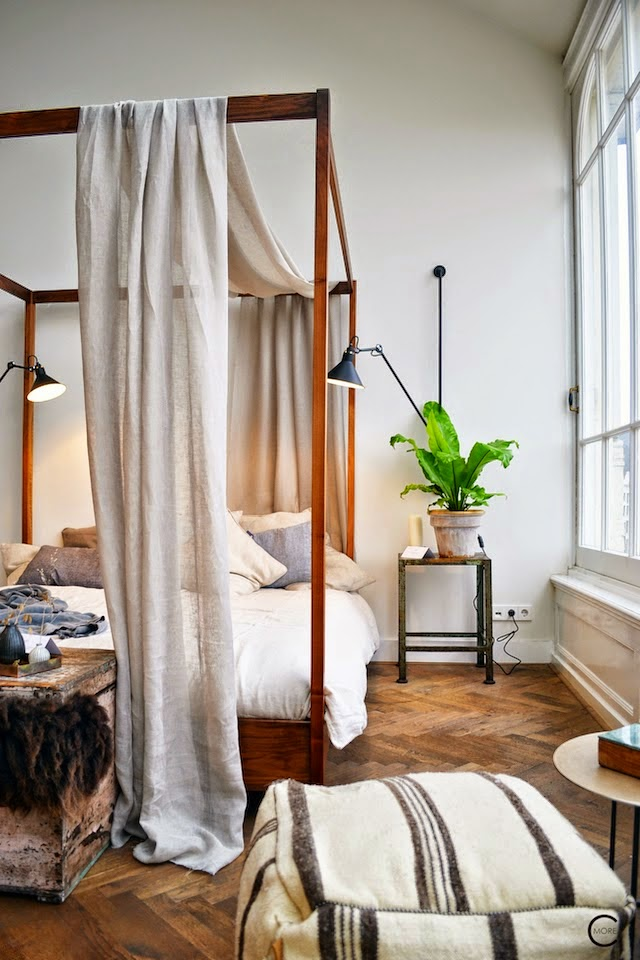 amsterdam loft four poster bed