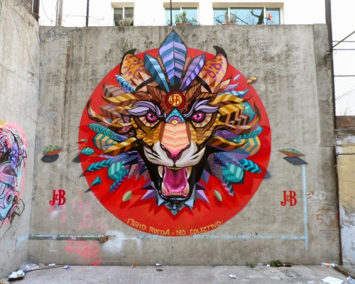 Farid Rueda's new murals in Mexico