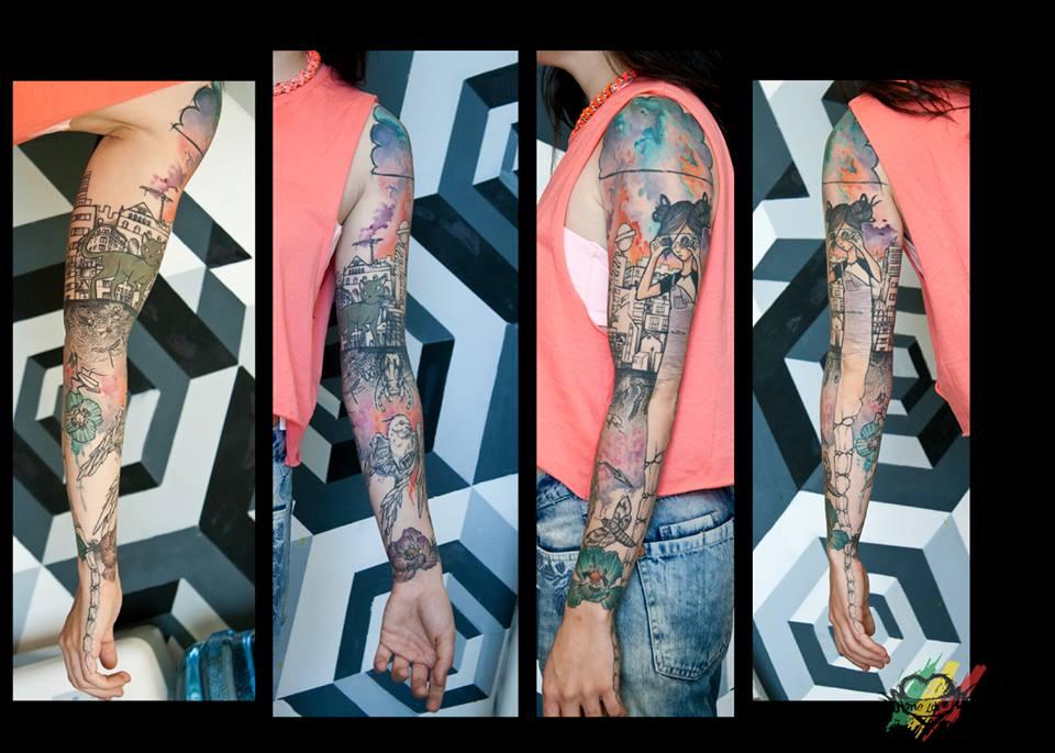 Deathpop Mole, tattoo artist - Vlist (1)