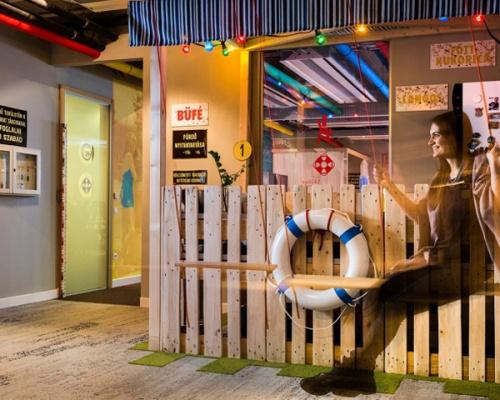 Google Office in Budapest, Graphasel Design Studio