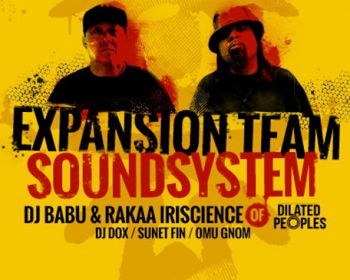 Sabotage Hip Hop Edition: Expansion Team Soundsystem