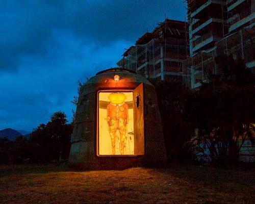 """Os Gemeos unveils a permanent installation """"Bunker"""" @ Museu Casa do Pontal"""