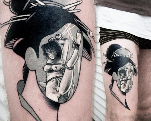 Aleksy Marcinów, tattoo artist