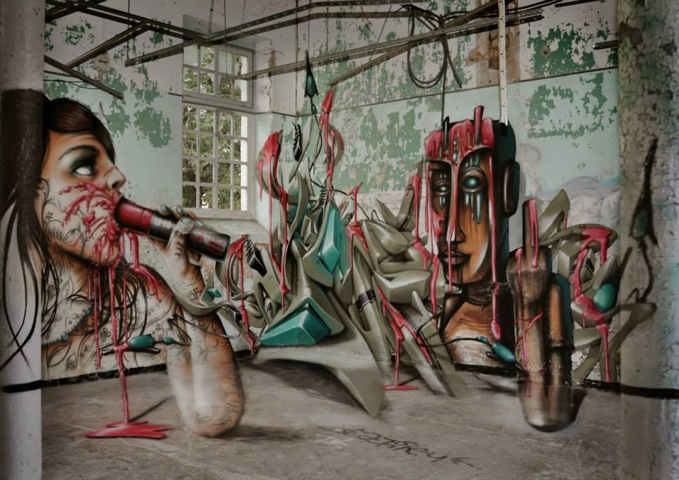 Cartoonish Street Art by Jeaze Oner (6)