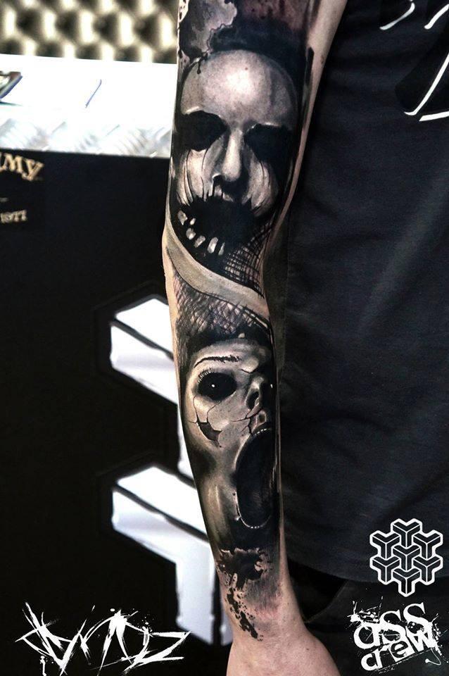 Dynoz Art Attak, tattoo artist (1)