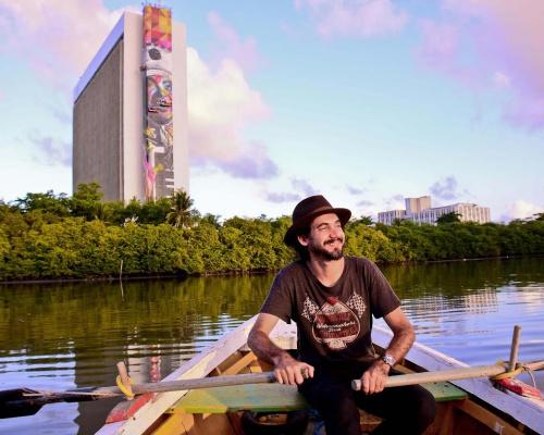 Eduardo Kobra in Recife, Pernambuco – Brazil