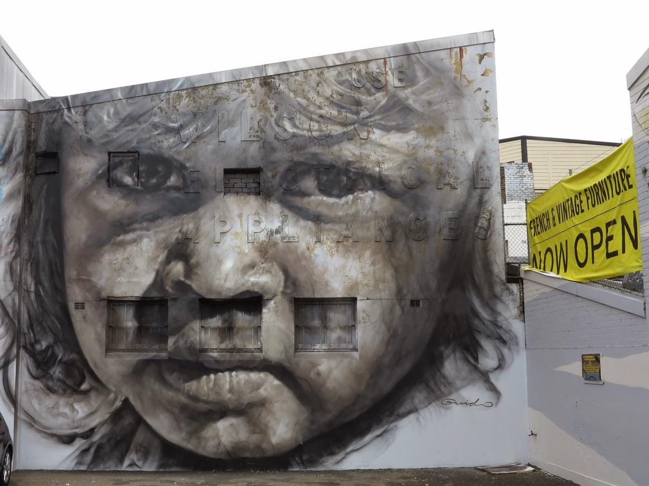 Guido Van Helten unveils a new portrait in Redfern, Australia (4)