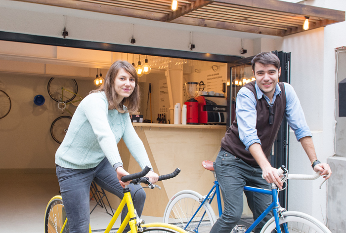 Have a coffee and get your bike fixed at Atelier Pinion, Bucharest (1)