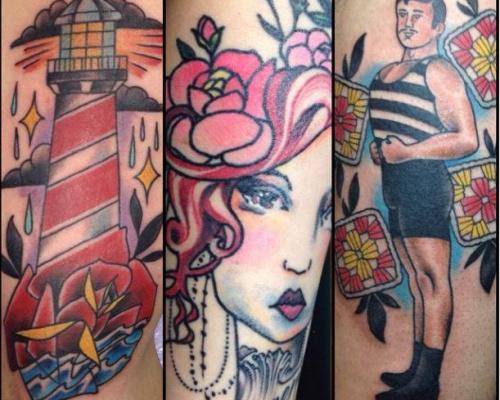 Lucas Reubelt, tattoo artist