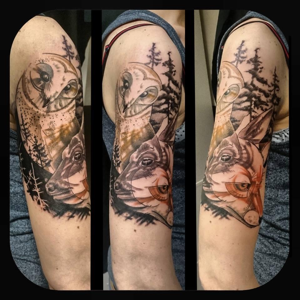 Melanie, Inky & Stretchy Tattoo (10)