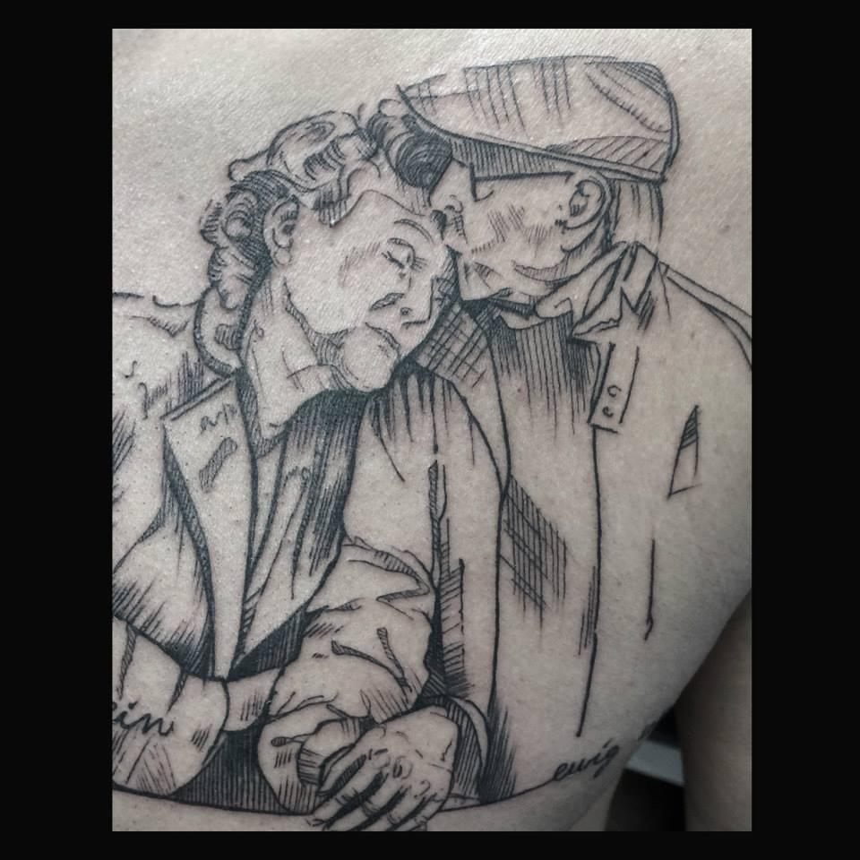 Melanie, Inky & Stretchy Tattoo (2)