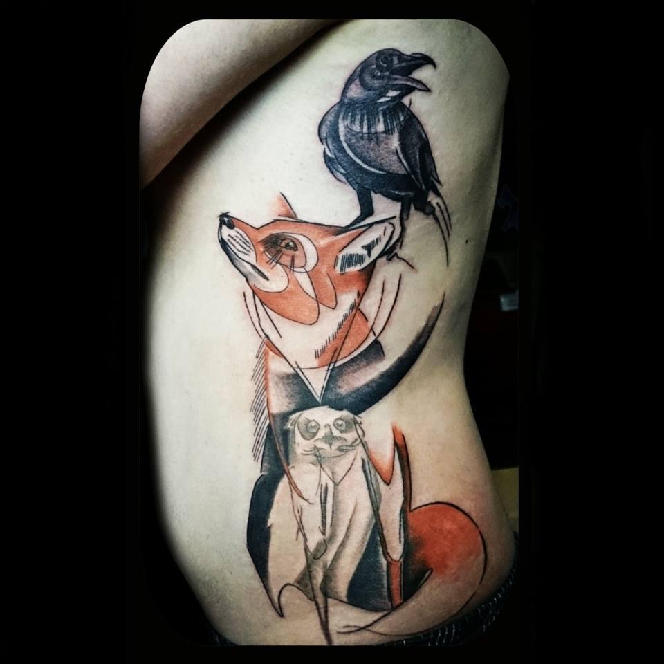 Inky tattoo