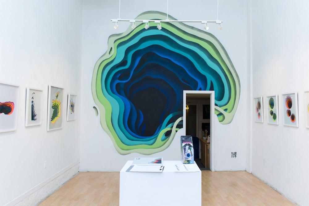 New Murals by '1010' Exhibit Hidden Portals of Color in Walls and Buildings (2)