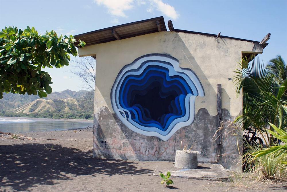 New Murals by '1010' Exhibit Hidden Portals of Color in Walls and Buildings (4)